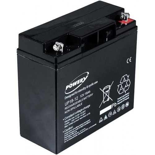 Batterie gel-plomb Powery 12V 18Ah